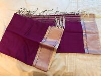 HALF SILK SAREE ( Buy Two for £38)