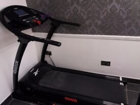 Reebok Z9 treadmill with 12 programmes, instant speeds and inclines.