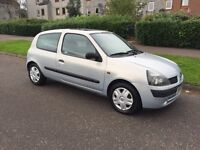 2003 Renault Clio 1.2 16v, 1Yr MOT, ONLY 42K Miles!! Immaculate Condition