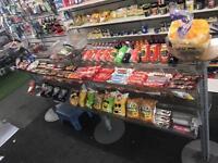 Shop chocolate stand