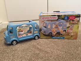 Sylvanian families Fish and Chip Van