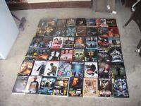 104 dvds all boxed good titles pick up corsham sn139ng