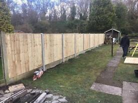 🌲Tanalised Vertical Board Fence Panels