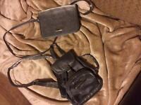Two different ladies handbags