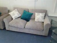 Sedac Meral Sofa Bed + Chair As new