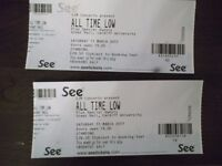 All Time Low tickets, Cardiff Uni, Sat 11th March 2017