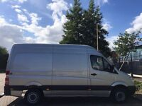 2009 MERCEDES SPRINTER 313 CDI MWB. BRILLIANT DRIVE.1 OWNER.FULL SERVICE HISTORY.LOW MILES.CD/RADIO