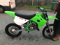 Kx 100 super evo fully restored Ktm yzf crf