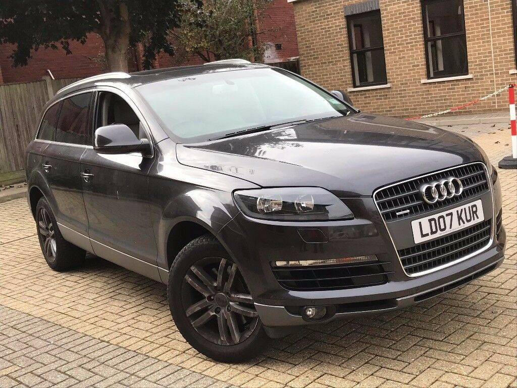 RARE AUDI Q QUATTRO PETROL AUTOMATIC SEATER FAMILY CAR TOP - Audi family car 7 seater
