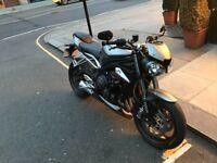 Mint Condition Triumph street triple RS 765 CC