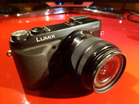 Panasonic GX7 in excellent condition. Only selling to pay for a drone
