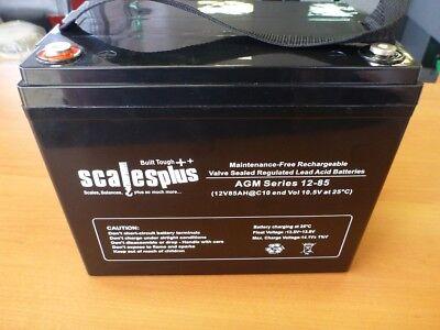12V 85AH Rechargeable Valve Regulated Sealed Lead Acid Battery 20HR VRLA SLA AGM Valve-regulated Lead