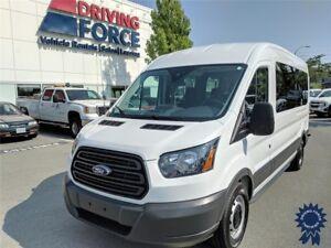 "2016 Ford Transit T-350 XL 148"" WB Medium Roof 12 Passenger Van"