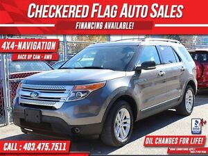 2012 Ford Explorer XLT 4X4-7 PASSENGER-NAV-HEATED SEATS-LIKE NEW