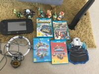 Nintendo wii u 32gb and games