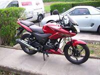 2014 Honda CBF125 low miles