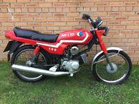 100cc MIG 2 Stroke Motorcycle / Motorbike BARN FIND - RARE BIKE
