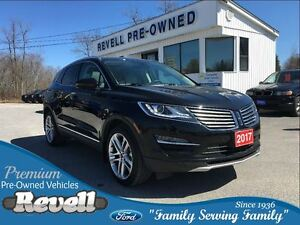 2017 Lincoln MKC AWD  *1-owner trade  Only 7K