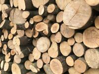 Used, hardwood logs all oak, beech, sycamore, ash & birch firewood for sale  Shotts, North Lanarkshire