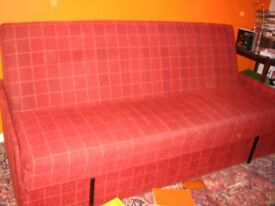 Hand made very solid sofa bed.For small bedroom: 200 m x 130 cm.