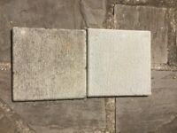 GRC Promenade Tiles - Light Grey 297mm x 297mm x 12mm Used