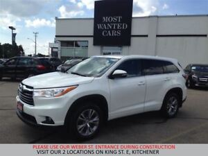 2014 Toyota Highlander LE AWD | LEATHER | CAMERA | 7 PASS