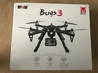 [Open to offers] BUGS 3 Remote Control quadcopter Drone, with action camera mount.