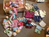 Baby doll accessories bundle