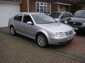( 2005) VW BORA HIGHLINE 1.9 TDI ( 130) 6 SPEED MET/SILVER ( ONE OWNER 88000 MILES ONLY FSH)