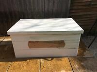 Solid oak box
