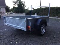 New Galvanised 6x4 trailer.