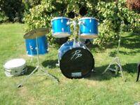 Performance percussion drum kit
