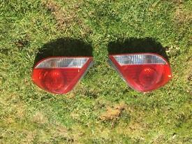 Hyundai coupe gen 3.5 rear lights