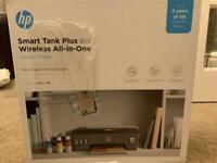 Hp smart tank plus 555 wireless all in one printer
