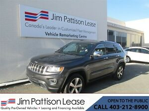 2015 Jeep Grand Cherokee 3.6L 4X4 Limited LOADED w/ NAV & Remote