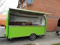 Mobile Catering Trailer Food Cart Burger Van Pizza Trailer Ice-Cream Cart 3400x1650x2300