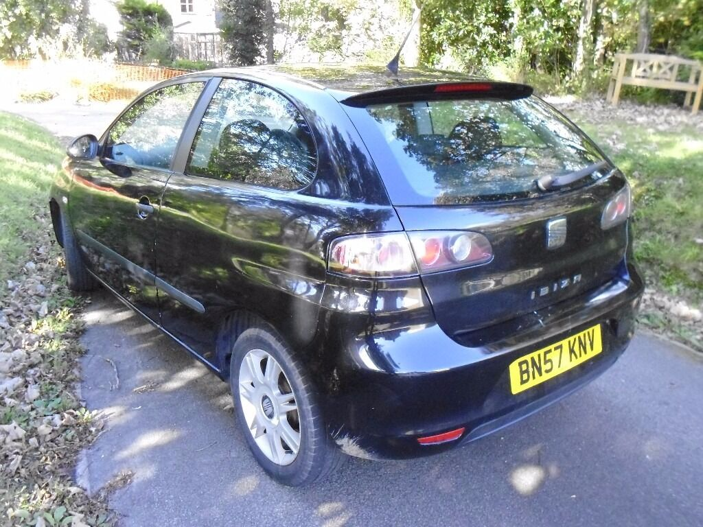 seat ibiza 1 2 reference 2007 bargain in bude. Black Bedroom Furniture Sets. Home Design Ideas