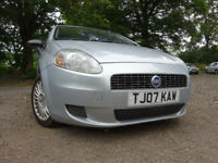 07 FIAT PUNTO ACTIVE 1.2,MOT AUG 018,3 OWNERS FROM NEW,2 KEYS,PART HISTORY,GREAT DRIVER
