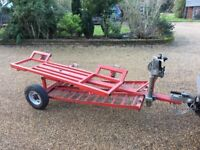 Car Recovery trailer trolly dolly car towing trailer