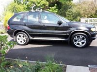BMW X5 SPORT 3.0d MANUAL. High Spec. FSH. TV. Sat Nav, Sunroof