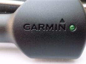 Genuine GARMIN In Car Charger Unit with an USB cable NOT a Traffic Receiver or Antenna Incorporated
