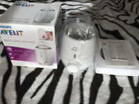 Philips AVENT Fast Bottle Warmer Brand New