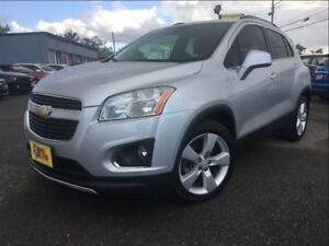 2014 Chevrolet Trax LTZ LEATHER SUN ROOF BACK UP CAMERA