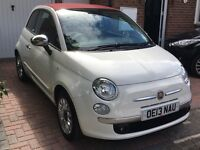 Fiat 500c 1.2 Lounge - Low Mileage, low cost to run and fun!