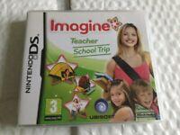 NINTENDO DS GAME IMAGINE TEACHER
