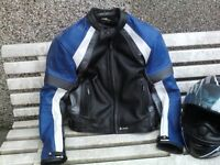 Wrong size stated my fault size 12 ladies leather jacket and helmet