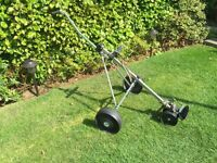 Golf trolley three wheel model