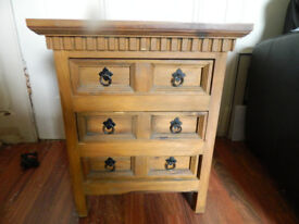 Mexican Bedside Cabinet or side cabinet/drawers