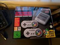 Nintendo Snes Super Nintendo classic mini, brand new and unopened
