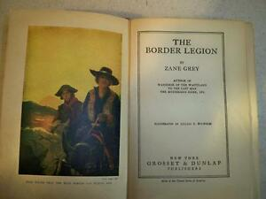 ZANE GREY THE BORDER LEGION-VINTAGE